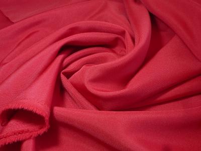Фото ткани: Габардин Красный