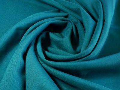 Фото ткани: Габардин, морская волна