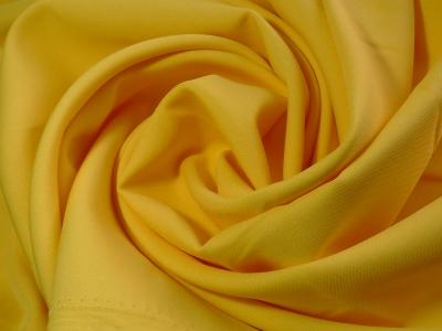 Габардин, желтый