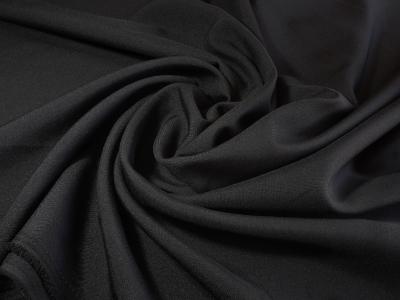 Фото ткани: Габардин, черный