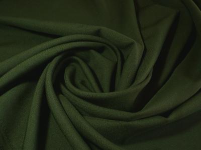 Габардин зеленый бутылочный