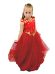 Нарядное платье в восточном стиле