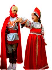 Костюмы Русского Богатыря и Русской Красавицы